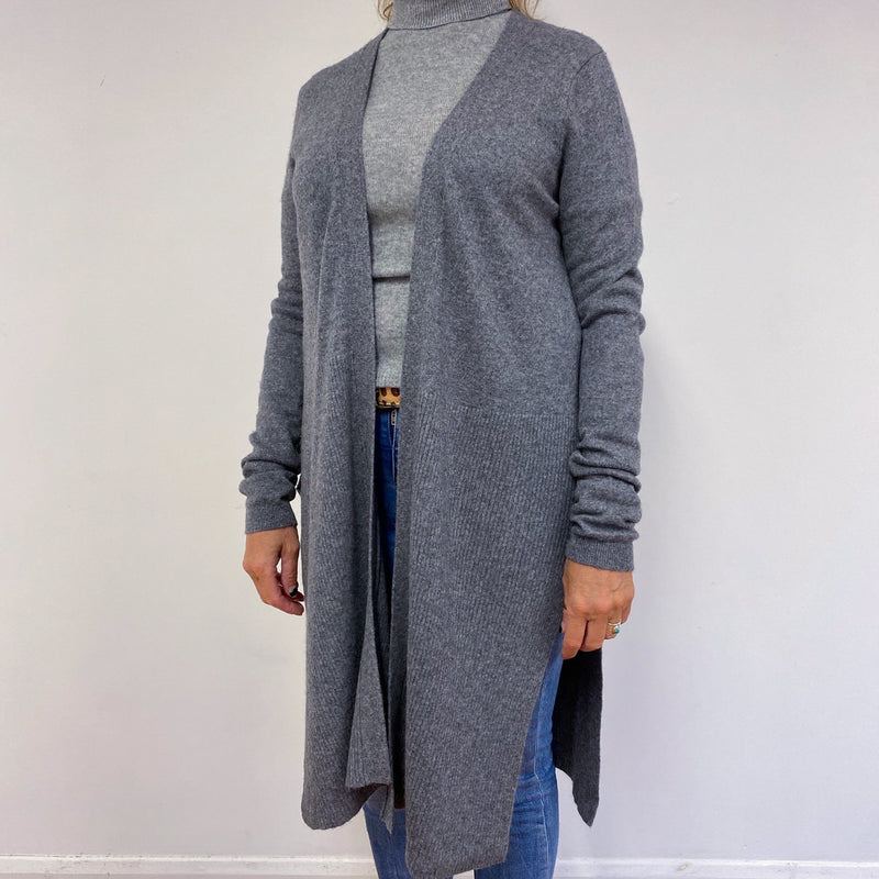 Long Mid Grey Cardigan L *As Featured On Instragram*