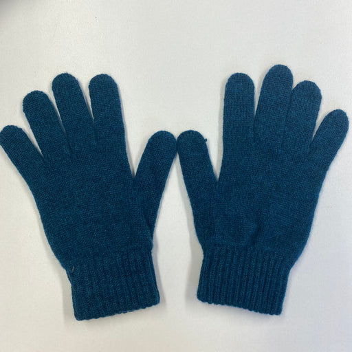 *New* Children's Teal Recycled Cashmere Gloves