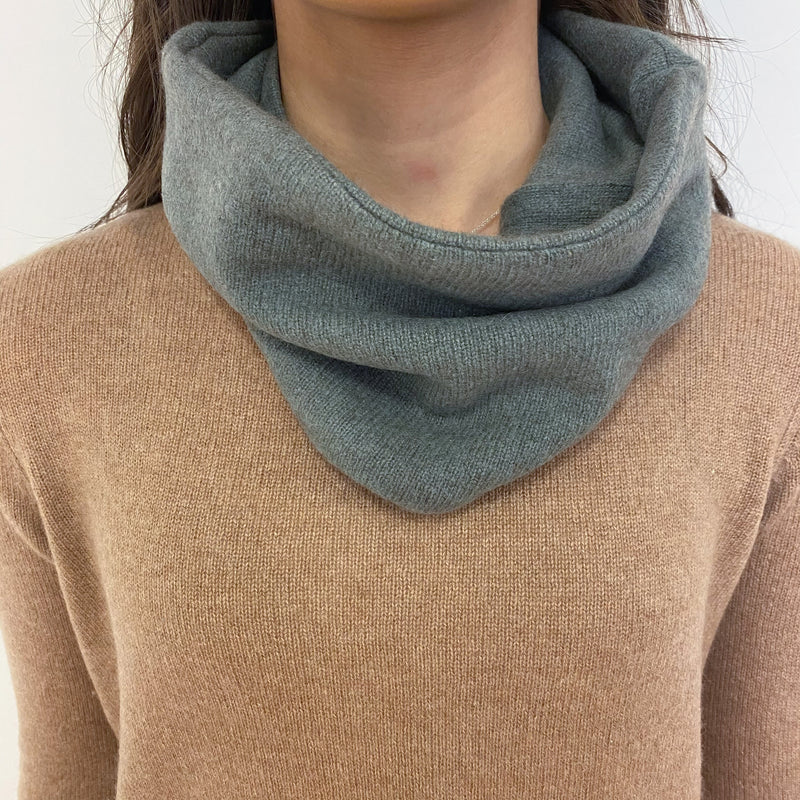 Muted Sage Green Neck Warmer