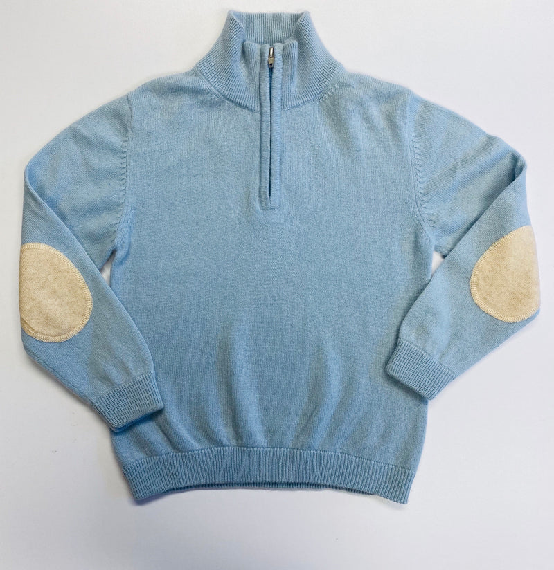 Powder Blue Sweater Aged 6