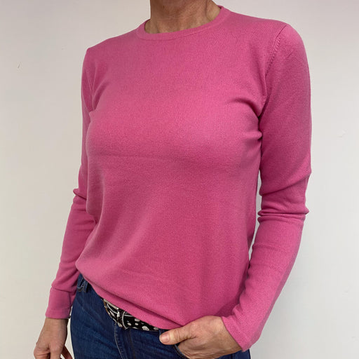 Rose Pink Crewneck Jumper Medium