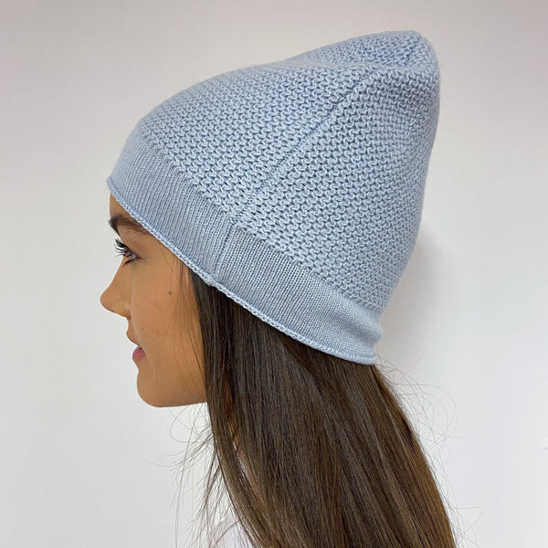 Brand New Powder Blue Beanie Hat One Size
