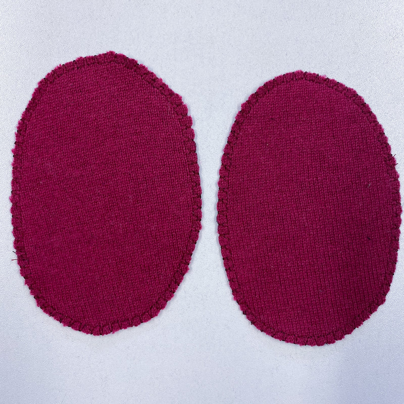 Cherry Pink Elbow Patches