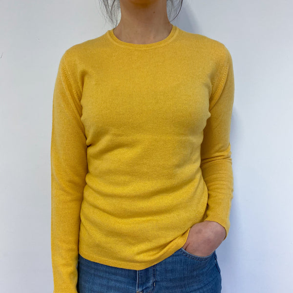 Brand New Scottish Pineapple Yellow Crew Neck Jumper Small