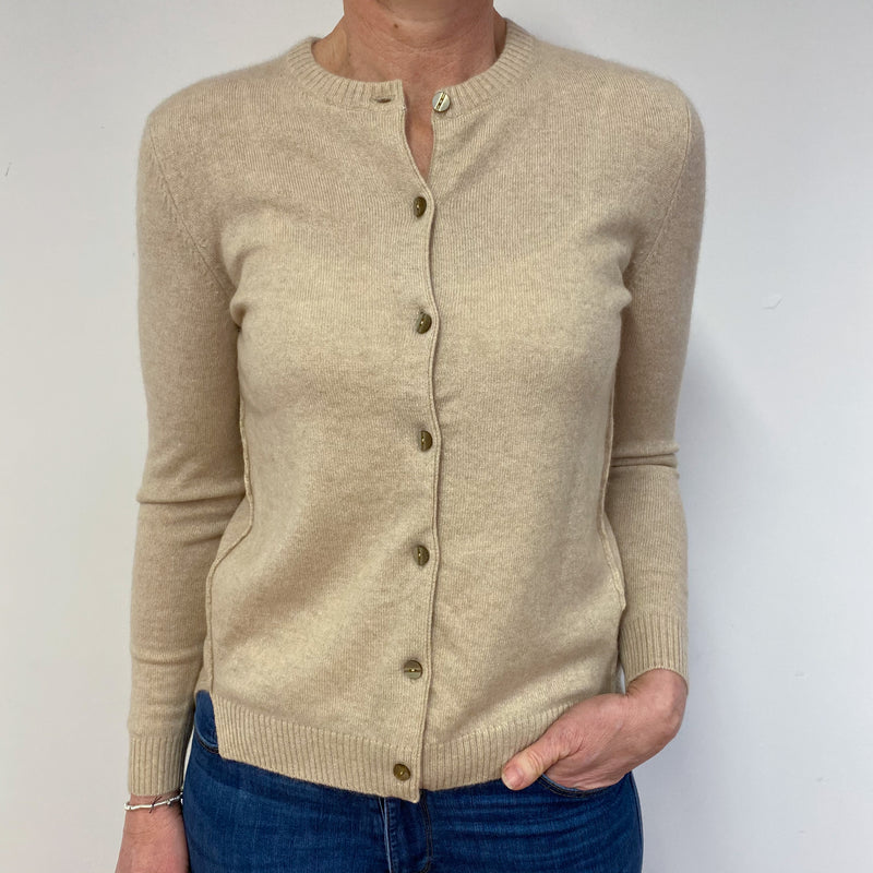 Light Camel Cardigan Medium