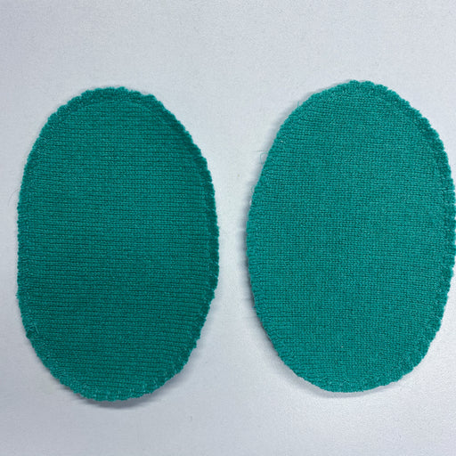 Seafoam Green Elbow Patches