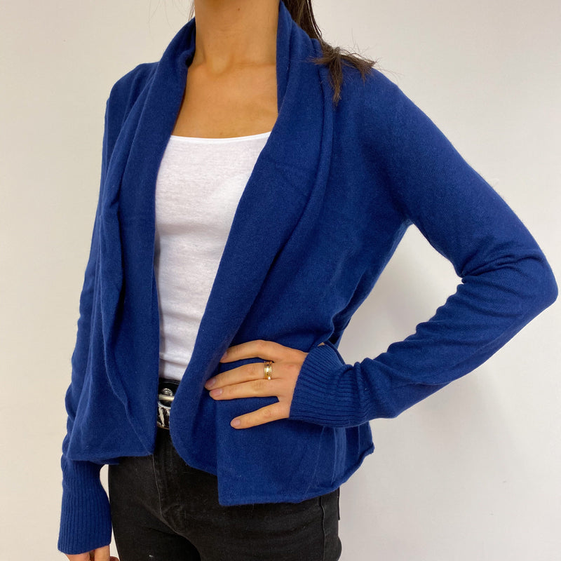Egyptian Blue Open Cardigan Small