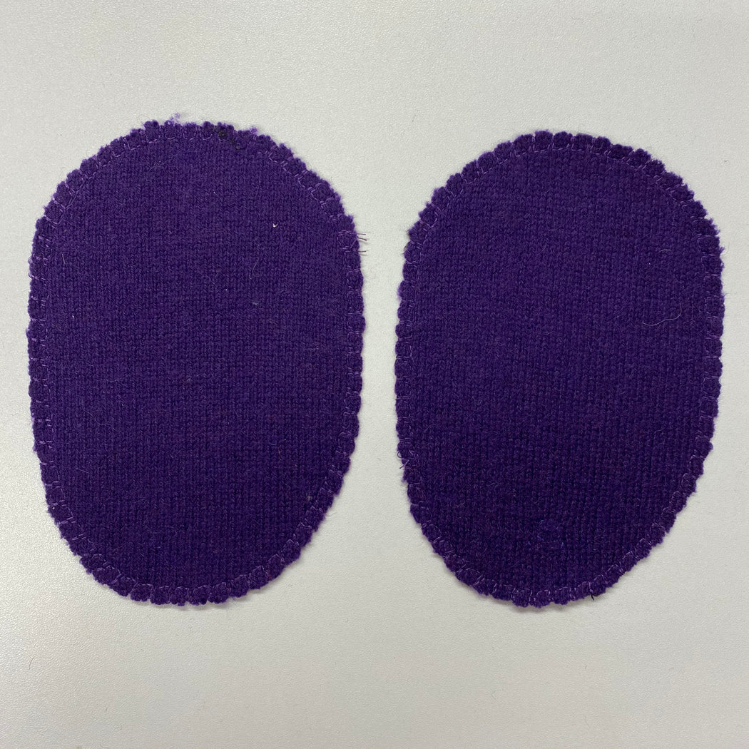 Large Elbow Patches Purple