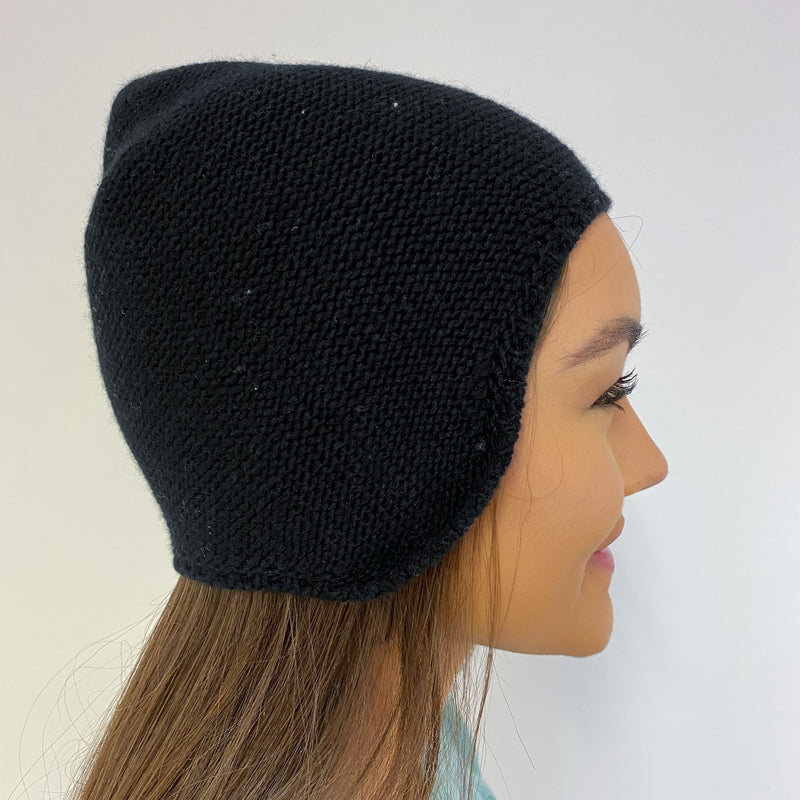 Brand New Black Skull Beanie One Size
