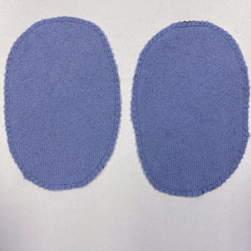 Large Pale Bluebell Elbow Patches