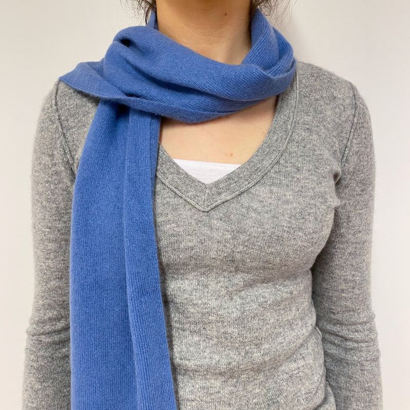Denim Blue Scarf