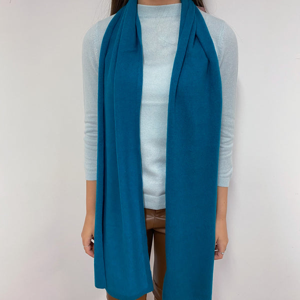 Teal Green Scarf