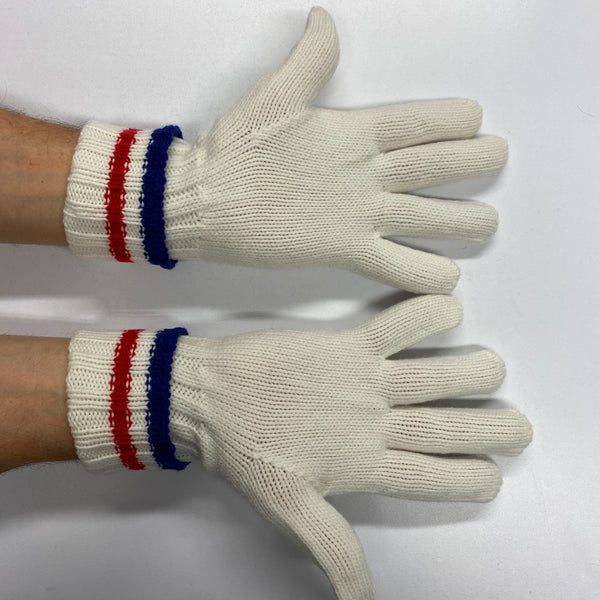 Men's New Cream Cable Knit Cashmere Gloves