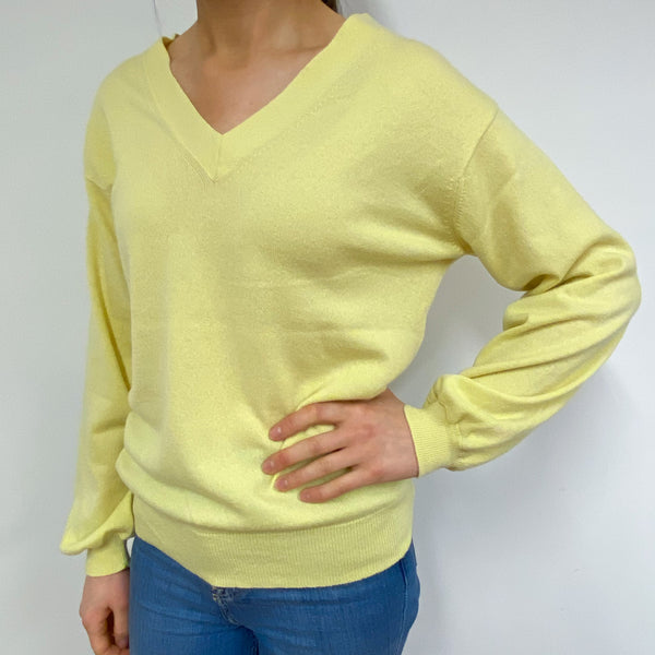 *Brand New* Scottish Primrose V-Neck Jumper Small