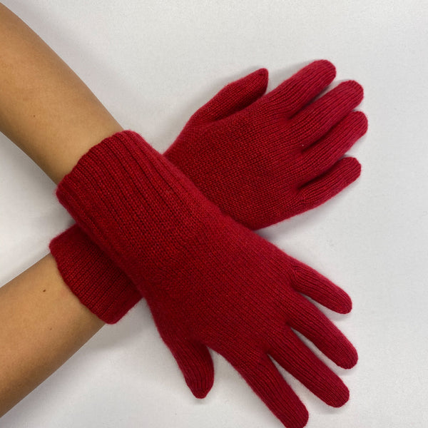 Brand New Spanish Red Gloves