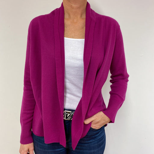 Brand New Scottish Magenta Cardigan Medium