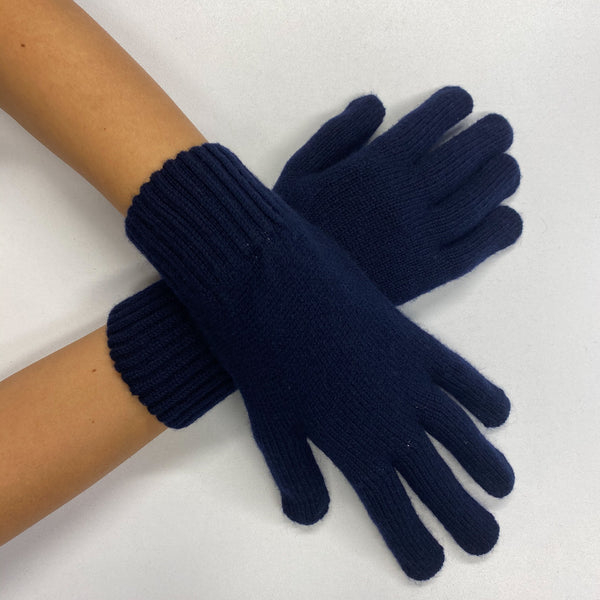 Brand New Navy Blue Gloves