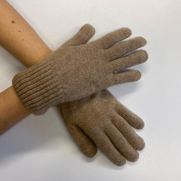 Brand New Dark Beige Gloves