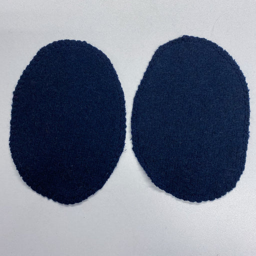 Dark Navy Blue Elbow Patches