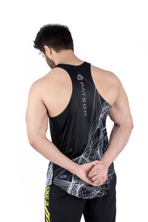 Paralax lines Stringer black - patson-fitness