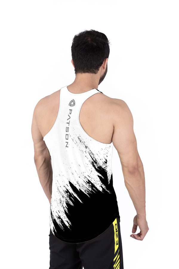Signature White Scratch Stringer