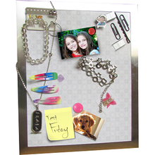 Stick It Magnetic Picture frame Accessory Organizer