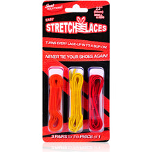 StretchLaces – Kid Size 22″ (Casual) 3 Pack