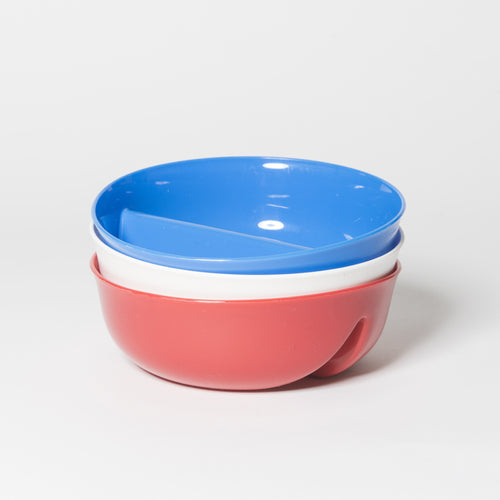 Set of 3 Just Crunch Anti-Soggy Cereal Bowl