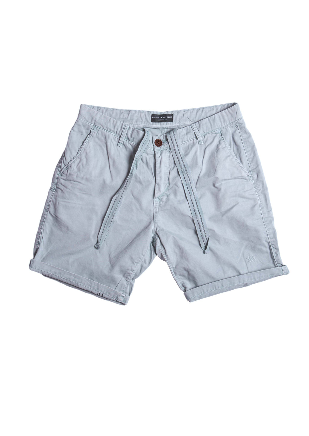 Short de Loneta Azul