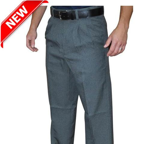 NEW! PRO SERIES PREMIUM POLY/WOOL CHARCOAL GREY PLATE PANTS