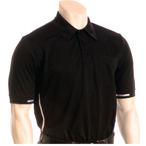 Smitty Major League Style Umpire Shirt - Available in Black and Carolina Blue