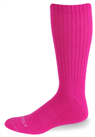 HOT PINK TUBE SOCKS