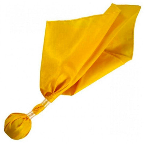 LONG TOSS BALL STYLE PENALTY FLAG. CHOOSE BLACK BALL OR GOLD BALL