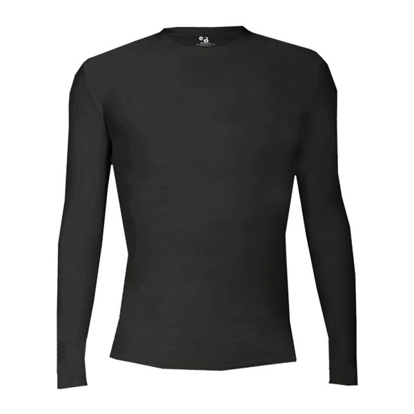 BADGER SPORTS PRO-COMPRESSION L/S CREW