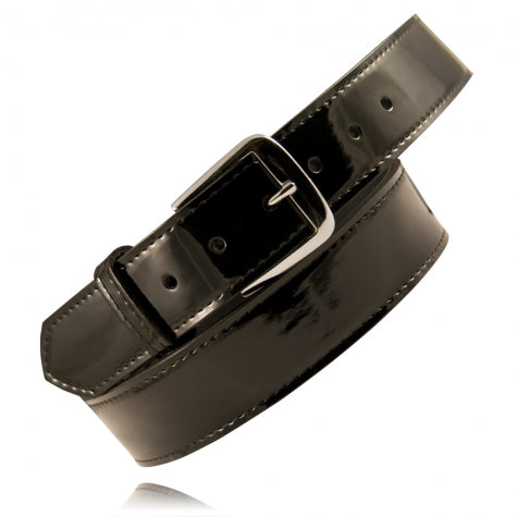 "BOSTON LEATHER 1 1/2"" PREMIUM HIGH GLOSS LEATHER BELT"