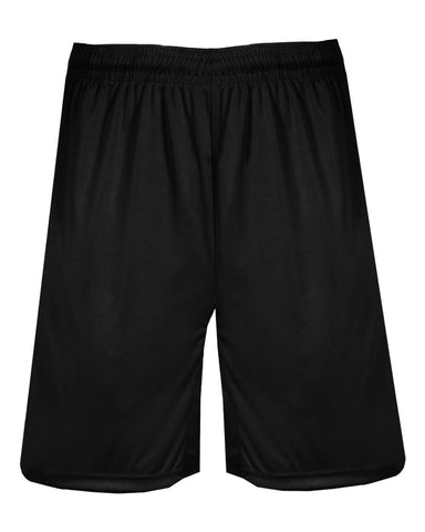 "BADGER SPORTS BT5 TRAINER 9"" SHORT - BLACK"