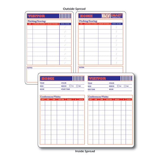 Ref Smart Baseball Game Card