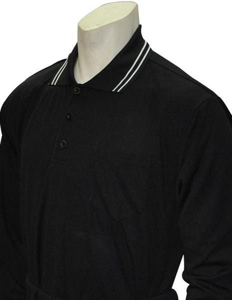 Smitty Performance Mesh Umpire Long Sleeve Shirt - Available in Black, Navy and Powder Blue
