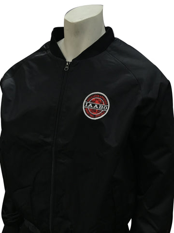 Smitty Black Jacket with Full Front Zipper w/IAABO LOGO