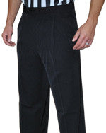 BASKETBALL AND WRESTLING REFEREE PANTS - PLEATED 4-WAY STRETCH