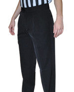 WOMEN'S BASKETBALL AND WRESTLING REFEREE PANTS - PLEATED 4-WAY STRETCH