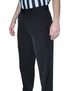WOMEN'S BASKETBALL AND WRESTLING REFEREE PANTS - FLAT 4-WAY STRETCH