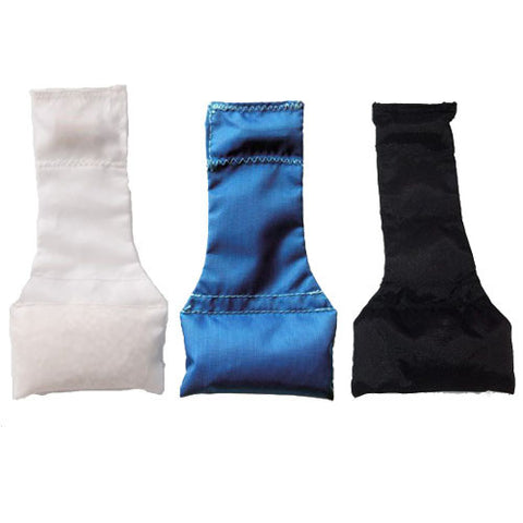 Long Neck Bean Bag - White, Royal, and Black