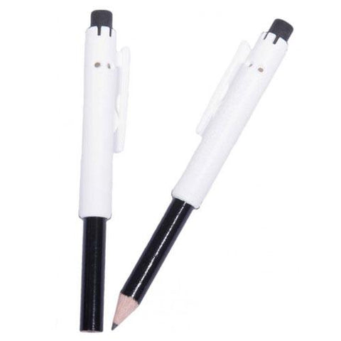 Mini Pencil with Plastic Shield and Clip