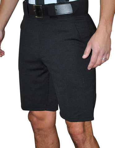 Smitty 4-Way Referee Shorts - Solid Black