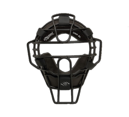 "DIAMOND ""BIG LEAGUE"" ULTRA-LITE MASK WITH FULL GRAIN PRO-STYLE PADS"