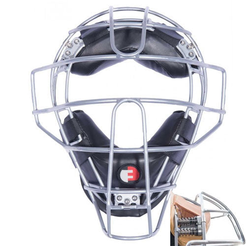 FORCE 3 DEFENDER SILVER FRAME W/ BLACK PADS