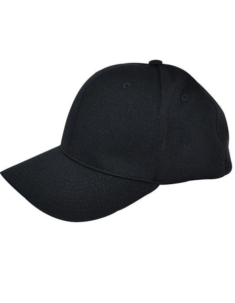 Smitty - 8 Stitch Flex Fit Umpire Hat - Available in Black and Navy