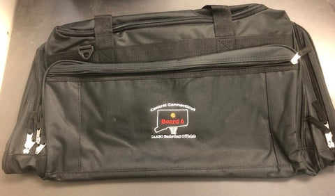DELUXE EQUIPMENT BAG W/IAABO BOARD 6 LOGO
