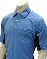 "SMITTY ""MAJOR LEAGUE"" STYLE 'SIDE PANEL' SHORT SLEEVE UMPIRE SHIRT, 4 COLORS AVAILABLE"